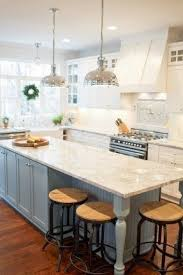 Granite kitchen island with seating