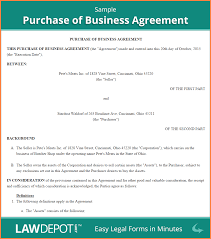 Business Agreement Sample 24 Business Purchase Agreement Registration Statement 24 8