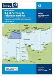 Salcombe Harbour Chart C5 Bill Of Portland To Salcombe Harbour