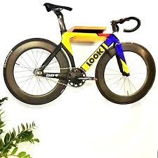 wood bicycle wall mount solid rack mounted parking road bike diy ply s kids room wooden wooden bike hook wall mount