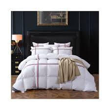 tutubird duck goose down quilted comforter duvet blanket white striped winter warm quilt with 100 cotton cover twin queen king size 150x200cm 2700g