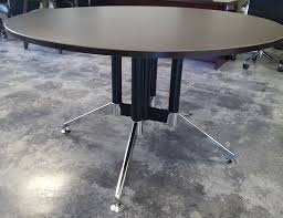 54 eames style round table set