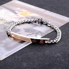 2019 Hot Pop jewelry Couple bracelet bracelet <b>tide men and women</b> ...