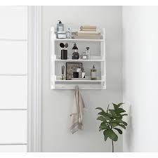 spirich 3 tier bathroom shelf wall