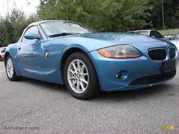 Coupe Series 2004 bmw roadster : 2004 BMW Z4 2.5i Roadster in Maldives Blue Metallic - R69102 ...