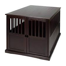 cal home 600 84 wooden extra large pet crate end table 30
