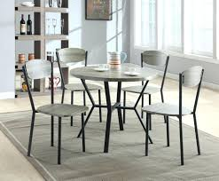 gray dining room chairs. Gray Wood Dining Chairs Crown Mark 5 Piece Set With Round Table In . Brilliant Room