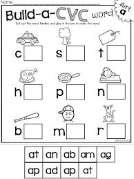 Blending Phonemes Worksheet For Kindergarten Worksheets for all ...