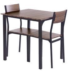 Ts Ideen 3 Teiliges Set Essgruppe Tisch 2 Stühle Kü Real