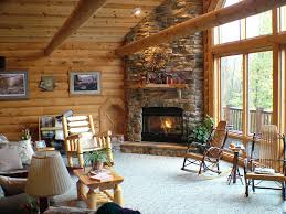 Corner Fireplace Log Cabins Corner Fireplace Love Log Cabins American Lifestyle