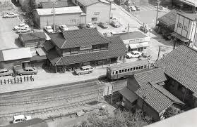 地方私鉄 1960年代の回想 昭和51年の小松駅2