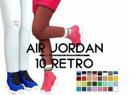 Hypesimstreetwear for sims 4 читать. Onyx Sims Air Jordan 10 Retro