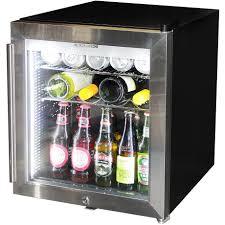 husky tropical glass door mini bar fridge 50 litre sc50 in glass door mini fridge glass