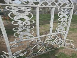 vintage garden trellis cast iron garden decor flower antique wrought iron trellis designs