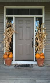 thanksgiving front door decorationsFall front porch decorating ideas front door thanksgiving