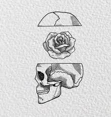 Jednoduché Tetování Růže