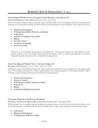 Gallery For Lead Pharmacy Technician Resume. resume ...