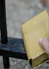 how to paint wrought iron fence 4