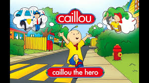 caillou game videos the hero toddler games ipad app caillou construction worker