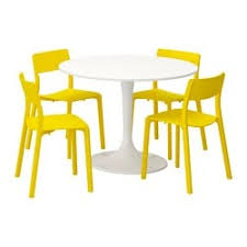 docksta janinge table and 4 chairs