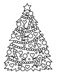 Small Picture Christmas Tree Coloring Pages Christmas Tree Card Templatejpg