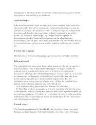 Report Format Template Word Formal Resume Cloud Project