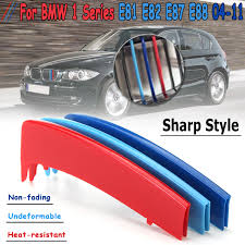 Good Value <b>3D Sport</b> M <b>Style</b> Color Grille Grill Cover Clip Trim For ...