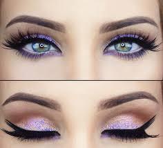 best eyeshadow for eye color purple faviana