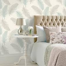 Grey And Cream Wallpaper Living Room ...