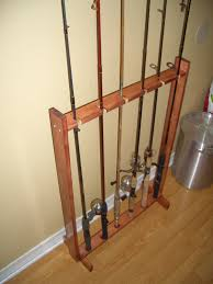 fishing rod rack plans