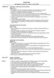 Drive Test Engineer Sample Resume Enchanting Best Sample Test Engineer Resume Templates Headline For Software