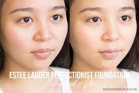 tashmakeupreviews estee lauder perfectionist youth infusing foundation makeup spf 25 review ings