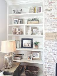 built in bookshelves around fireplace photo of 17 free bookshelf plans