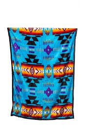 Native Design Blankets Premium Native Design Baby Blanket Reversible