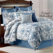 randolph comforter set steel blue