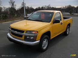 2005 Yellow Chevrolet Colorado LS Regular Cab #41068623 | GTCarLot ...