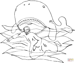 Small Picture Jonah and the Whale coloring page Free Printable Coloring Pages