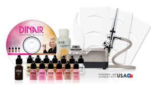 professional airbrush makeup system dinair