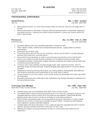 Useful Medical Field Resume Templates About Resume Examples