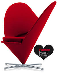 furniture panton heartchair2 romantic furniture heart chair