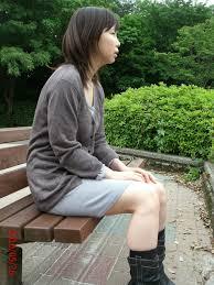 Japanese Exhibitionist Amateur At Public Garden