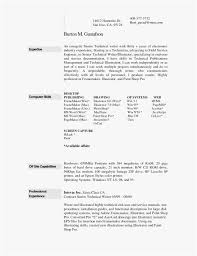 Resume Templates For Mac Word
