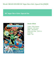 Spaced Online Ebook Read Online Dc Super Hero Girls Spaced Out Pdf
