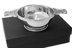 image is loading personalised polished pewter celtic design quaich bowl end