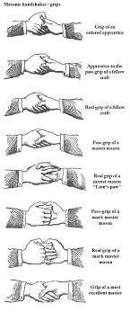 Freemason Organization Chart The Different Kinds Of Masonic Handshakes Or Grips
