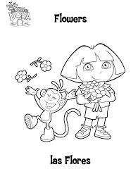 Kleurplaten Dora Afdrukken