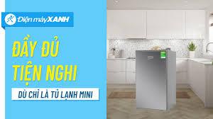 Tủ lạnh Beko 93L: mini nhưng vẫn tiện nghi, dành cho sinh viên, công nhân  (RS9051P) • Điện máy XANH - Sửa Nhà Thanh Xuân