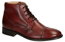burdy horse leather plain cap toe mens dress