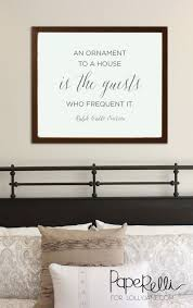 an ornament to a house guest room free