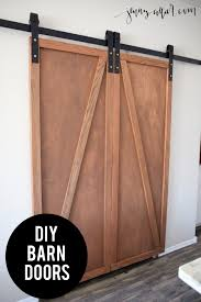 Barn Door For Kitchen Diy Barn Door Pantry A Jenny Collier Blog